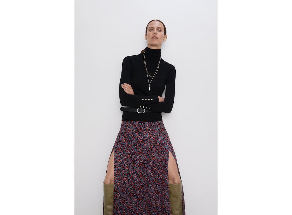 a55cb5d7a Women's Midi Skirts | New Collection Online | ZARA United Kingdom