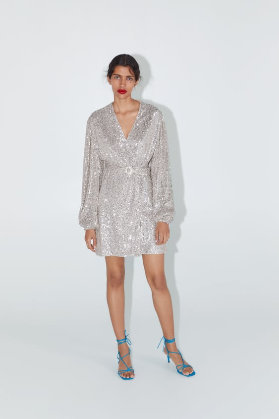 4780a19f Shoptagr   Jacket Dress With Sequins Sequins Dress Time Woman Corner ...