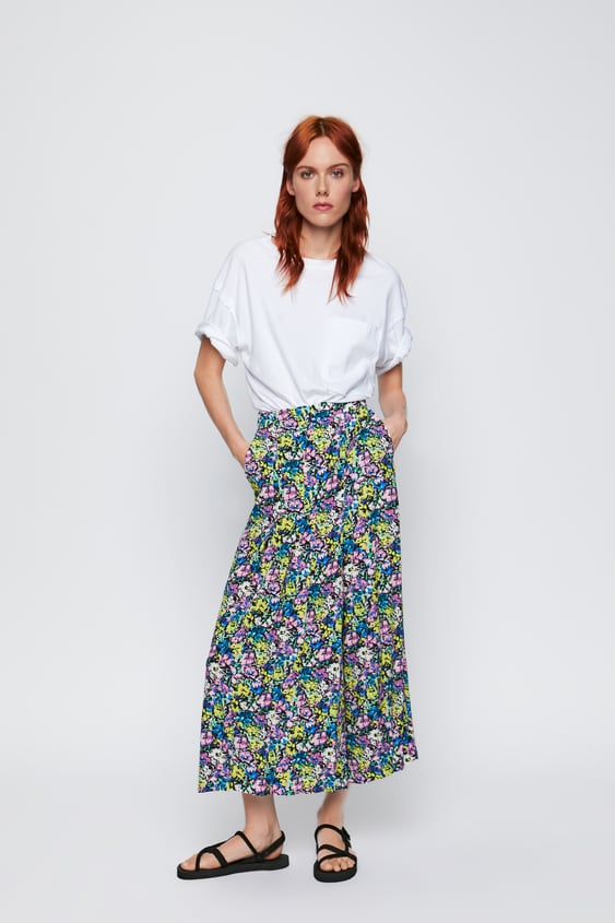 8d57cde7 Women's Culottes | New Collection Online | ZARA Luxembourg