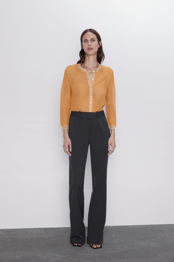 Flared Pants View All Pants Woman by Zara