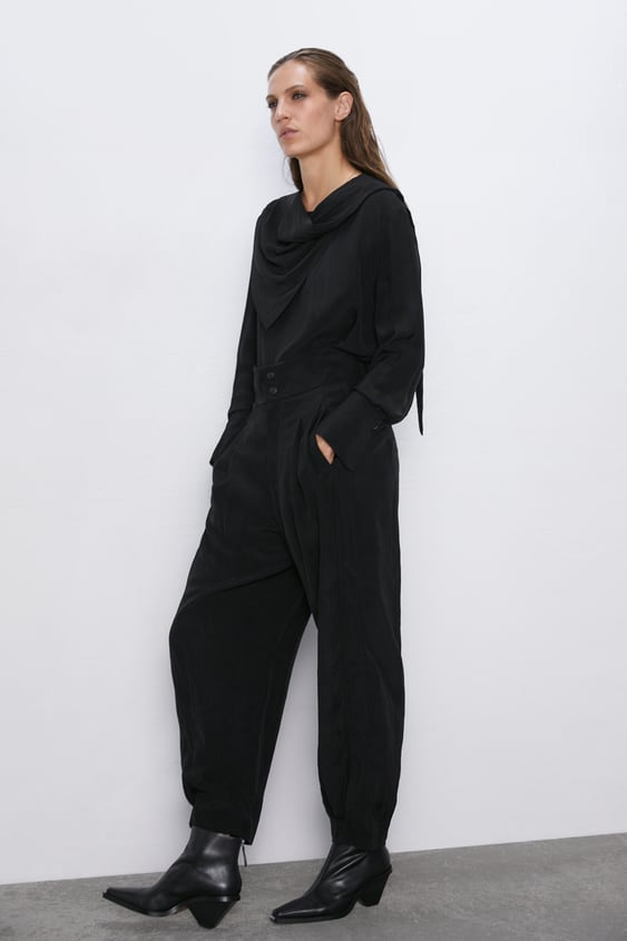 89223df9 Women's Trousers   New Collection Online   ZARA United Kingdom