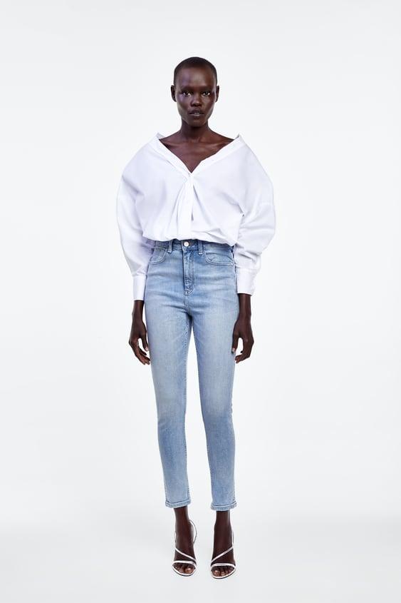 3427e39a01010 Jeans taille haute femme | Nouvelle Collection en ligne | ZARA France