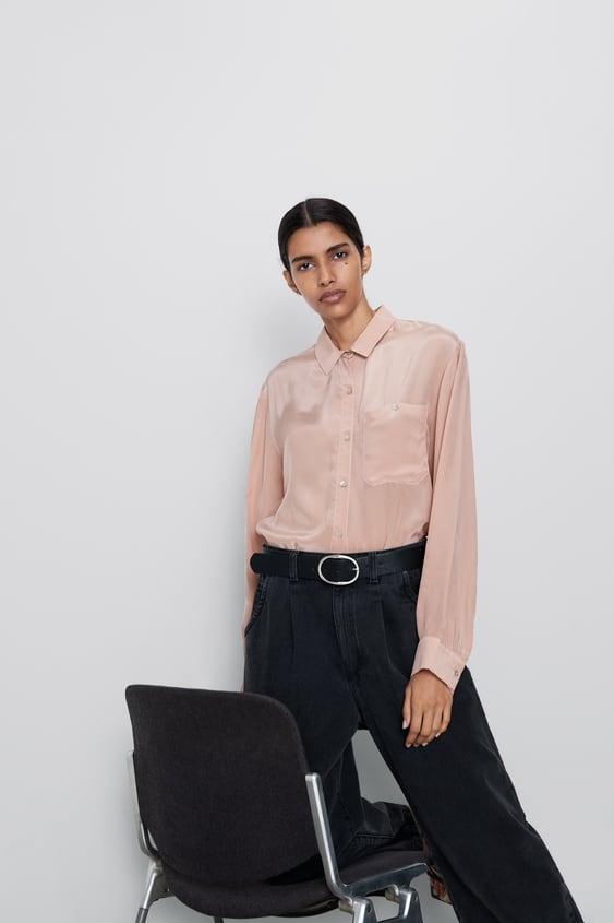 4445c77c Women's Shirts | New Collection Online | ZARA United Kingdom