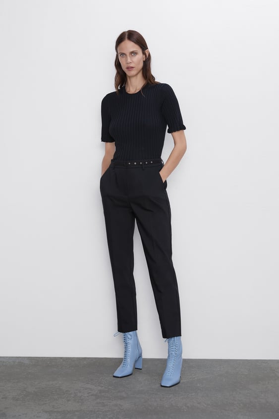 63d3a36472cd86 Pantalons à pinces femme | Nouvelle Collection en ligne | ZARA France