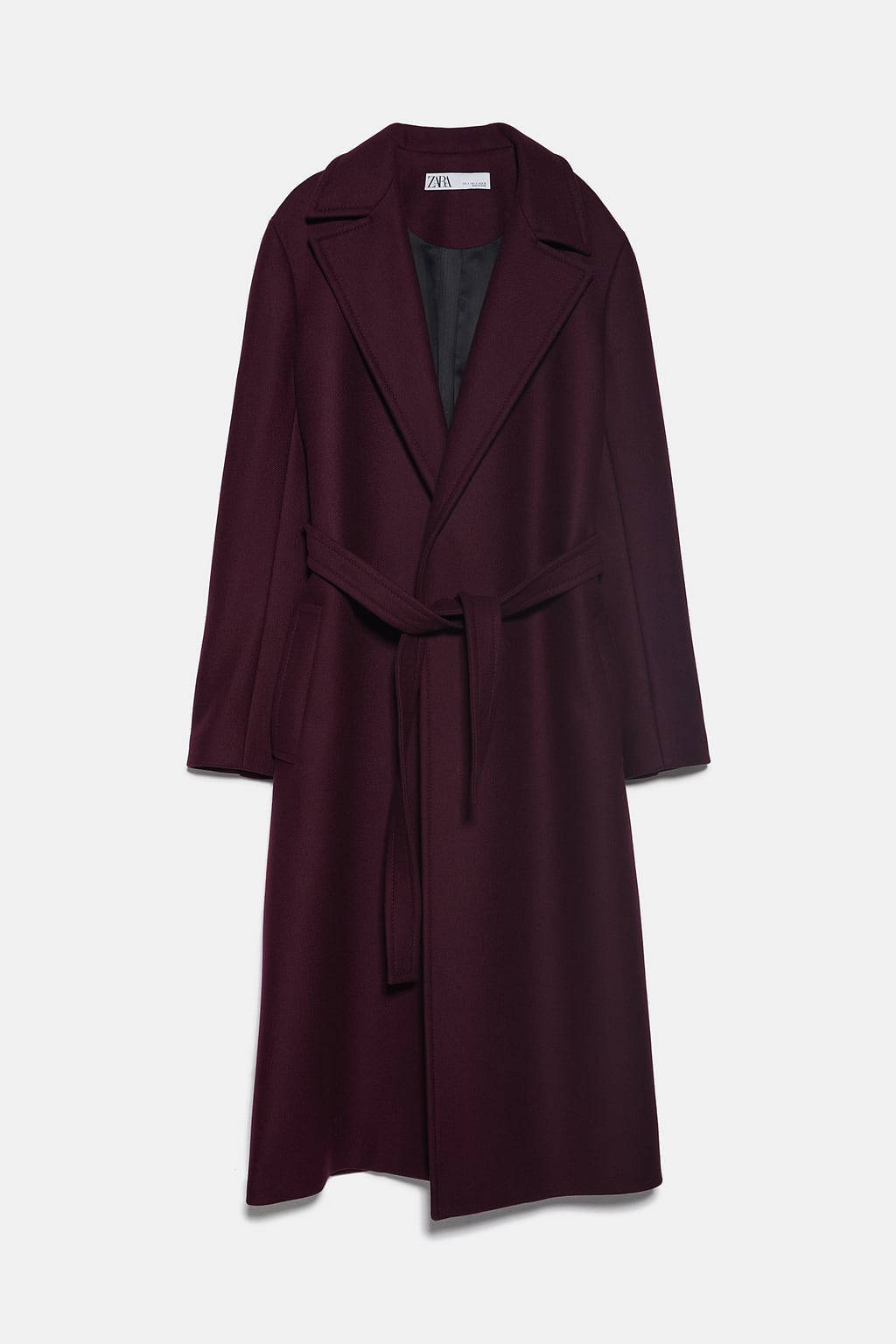 Image 8 of BELTED COAT from Zara