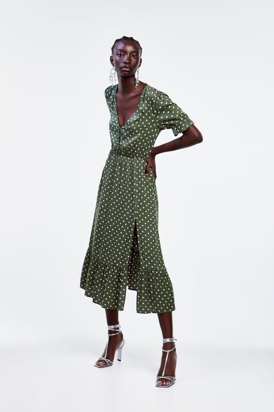 ace109652c Robes mi-longues pour femme | Nouvelle Collection en ligne | ZARA France