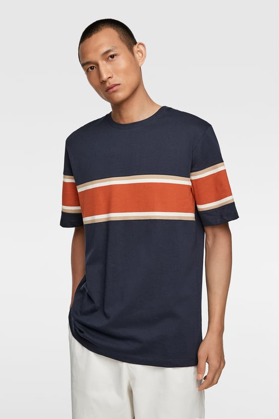 be46d61243 Men's Printed T-shirts | New Collection Online | ZARA Brazil
