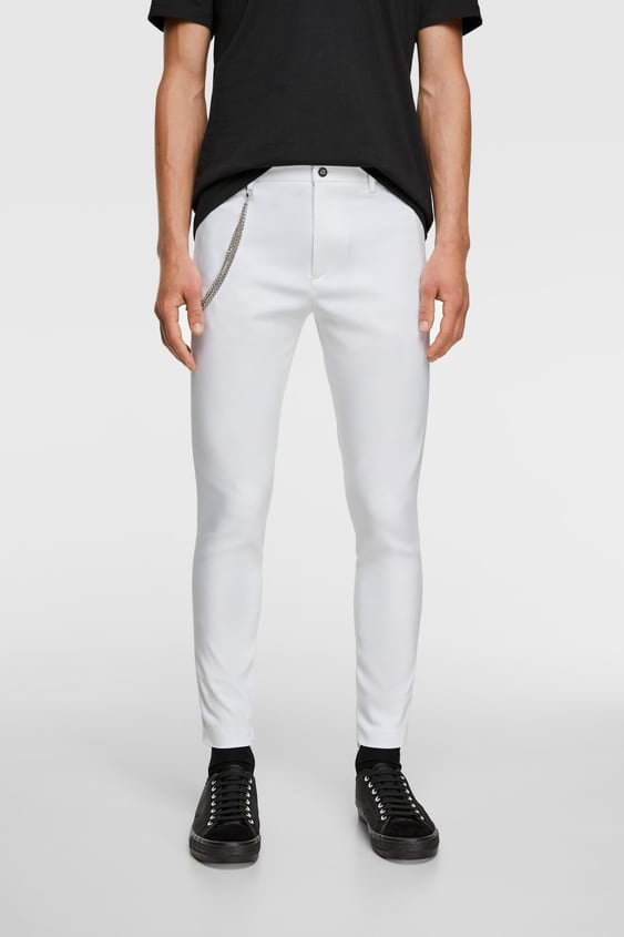 68c7f6b078 Men's Casual Trousers | New Collection Online | ZARA Qatar