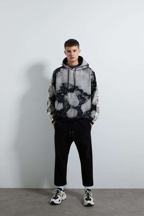 grand choix de 2019 modèles à la mode choisir le dernier SWEAT À IMPRIMÉ TIE & DYE