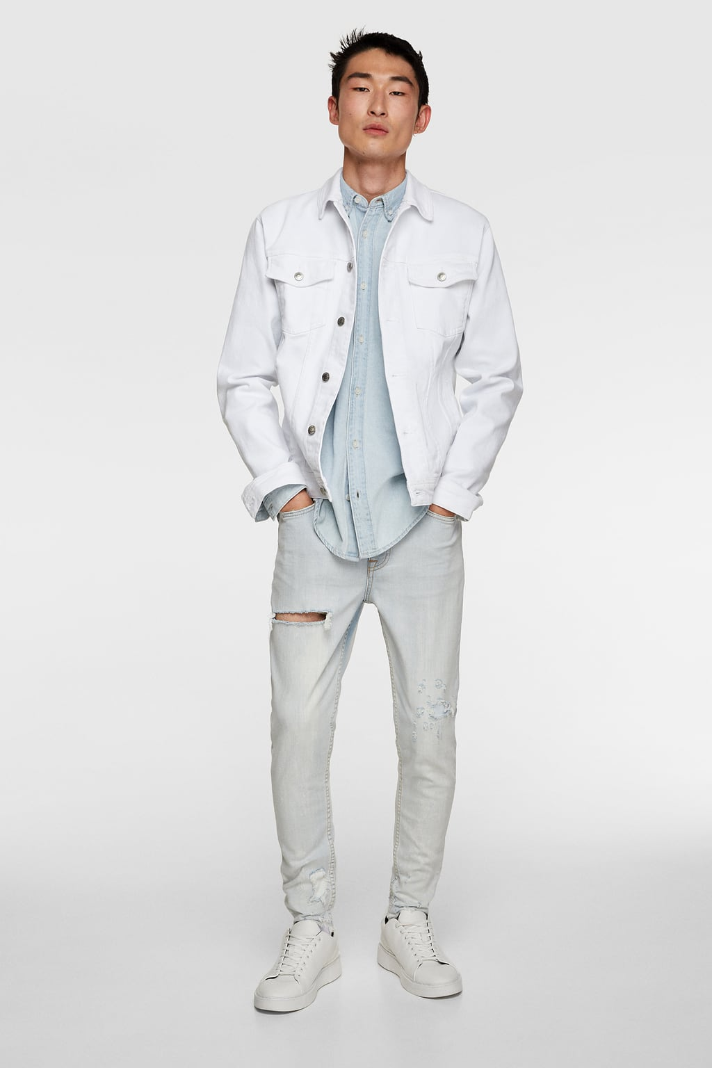 Men's denim looks