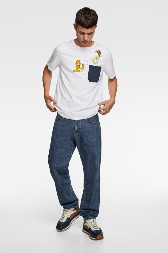 ©Paws Inc. Garfield And Odie Shirt  View All T Shirts Man by Zara