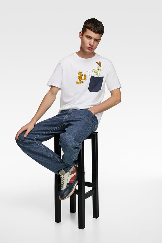 43dda9ccdd Men's Printed T-shirts | New Collection Online | ZARA Italy