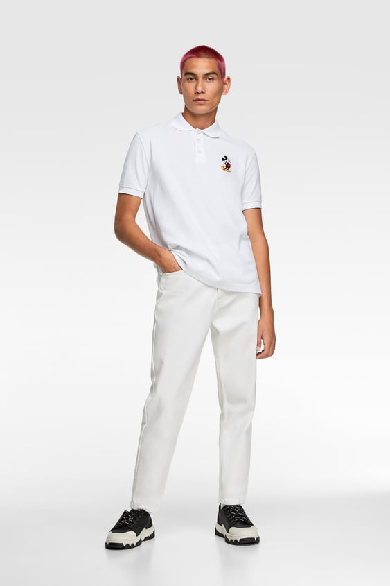 2abccade26 LICENSED EMBROIDERED POLO SHIRT