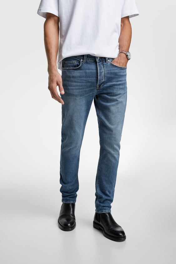 04f6aa78a5 Men's Slim Fit Jeans | New Collection Online | ZARA Turkey