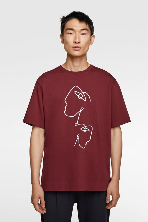 bcbc67614a Men's T-shirts | New Collection Online | ZARA United Kingdom