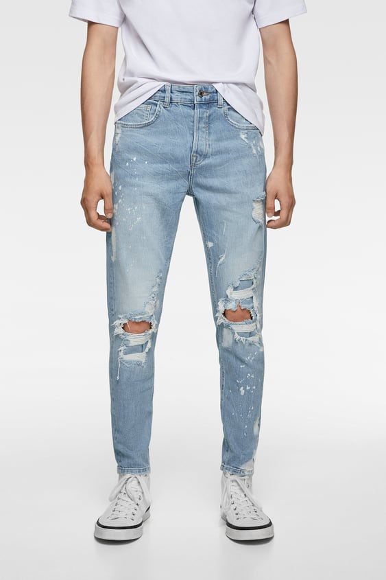 70bb1779a Men's Skinny Jeans | New Collection Online | ZARA India