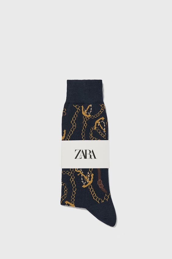 75a45e53b2bf5 Men's Socks | New Collection Online | ZARA Singapore