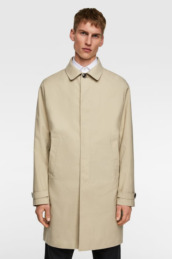 b81c7940c Men's Trench Coats | New Collection Online | ZARA United Kingdom