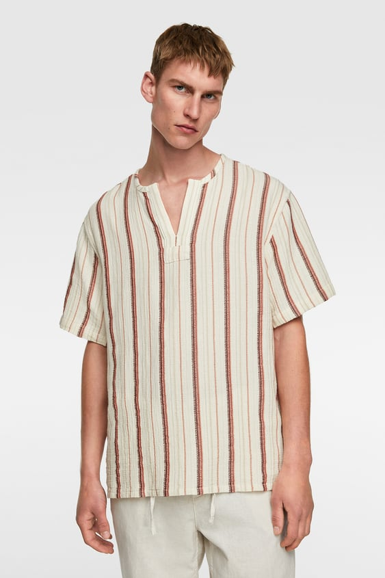 2a0532640a07 Men's Striped Shirts   New Collection Online   ZARA United Kingdom