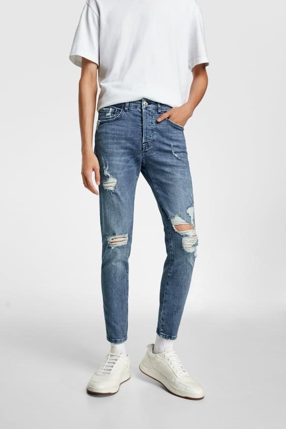 ccf71b6e9b Men's Skinny Jeans | New Collection Online | ZARA Ireland