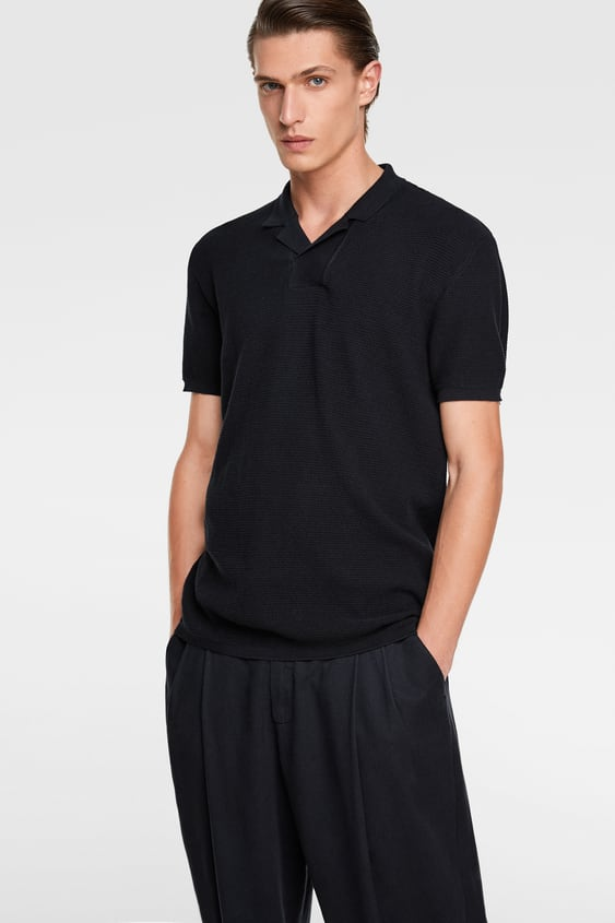 3305ce59 Men's Polo Shirts | New Collection Online | ZARA United Kingdom