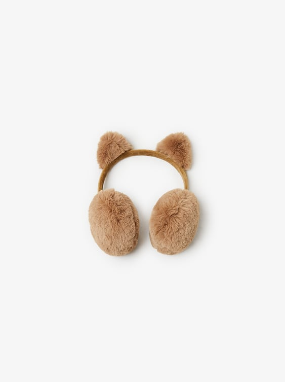 Ear Muffs With AppliquÉs by Zara
