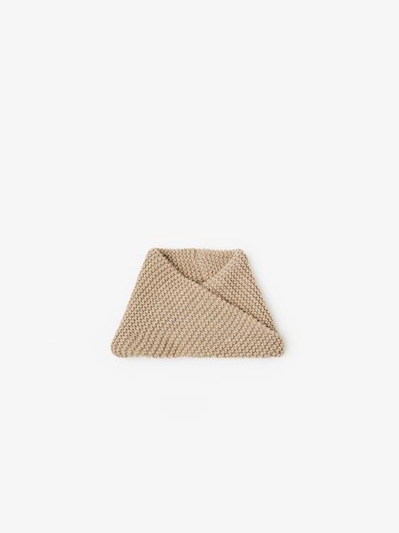 Knit Neck Warmer  Hats Baby Boy Accessories Kids by Zara
