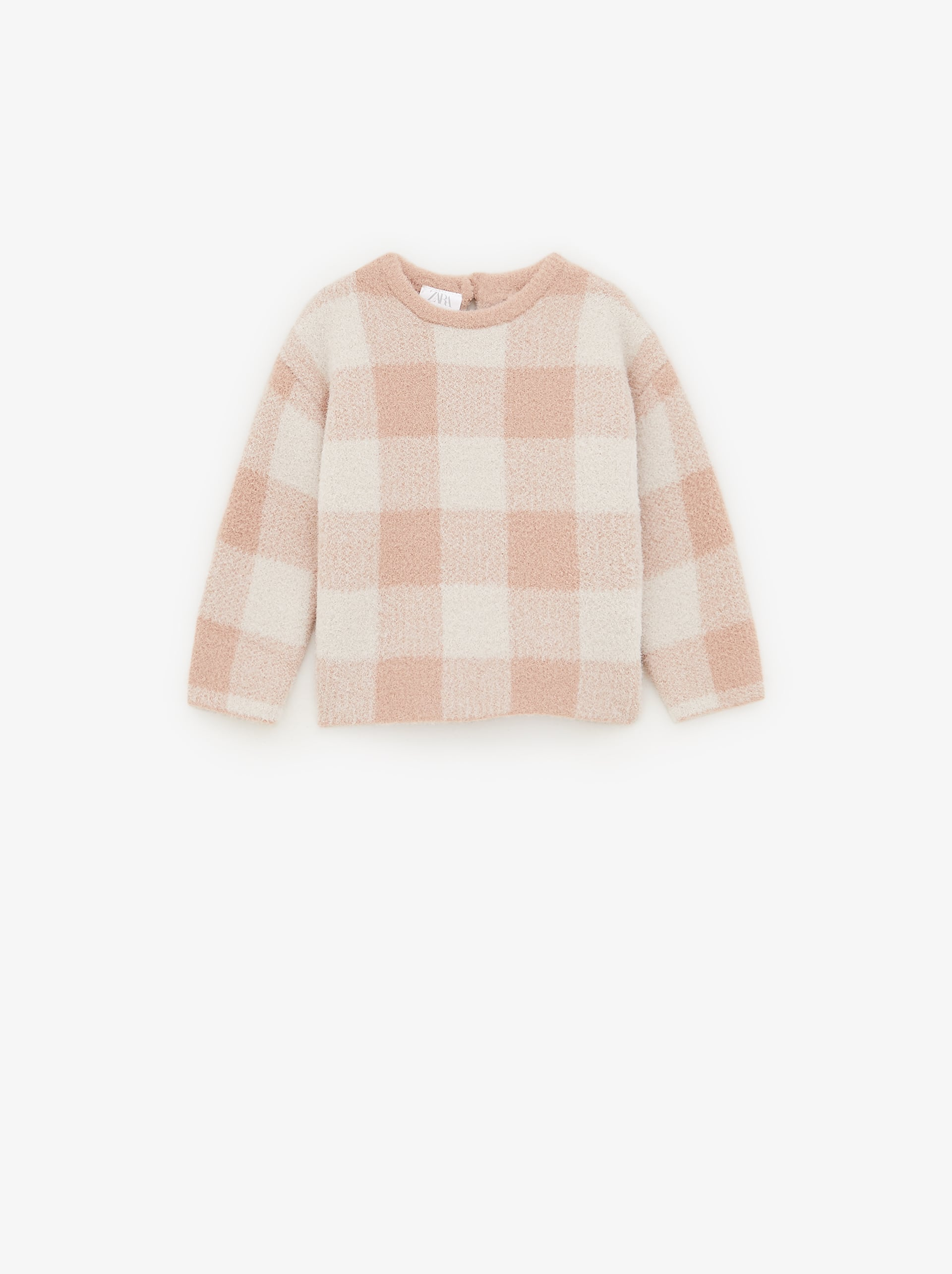 Plaid Knit Sweater by Zara