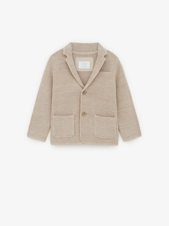 suitable for men/women purchase newest aesthetic appearance KNIT BLAZER