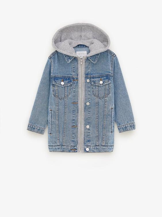 Oversized Denim Jacket  Must Havesgirl by Zara