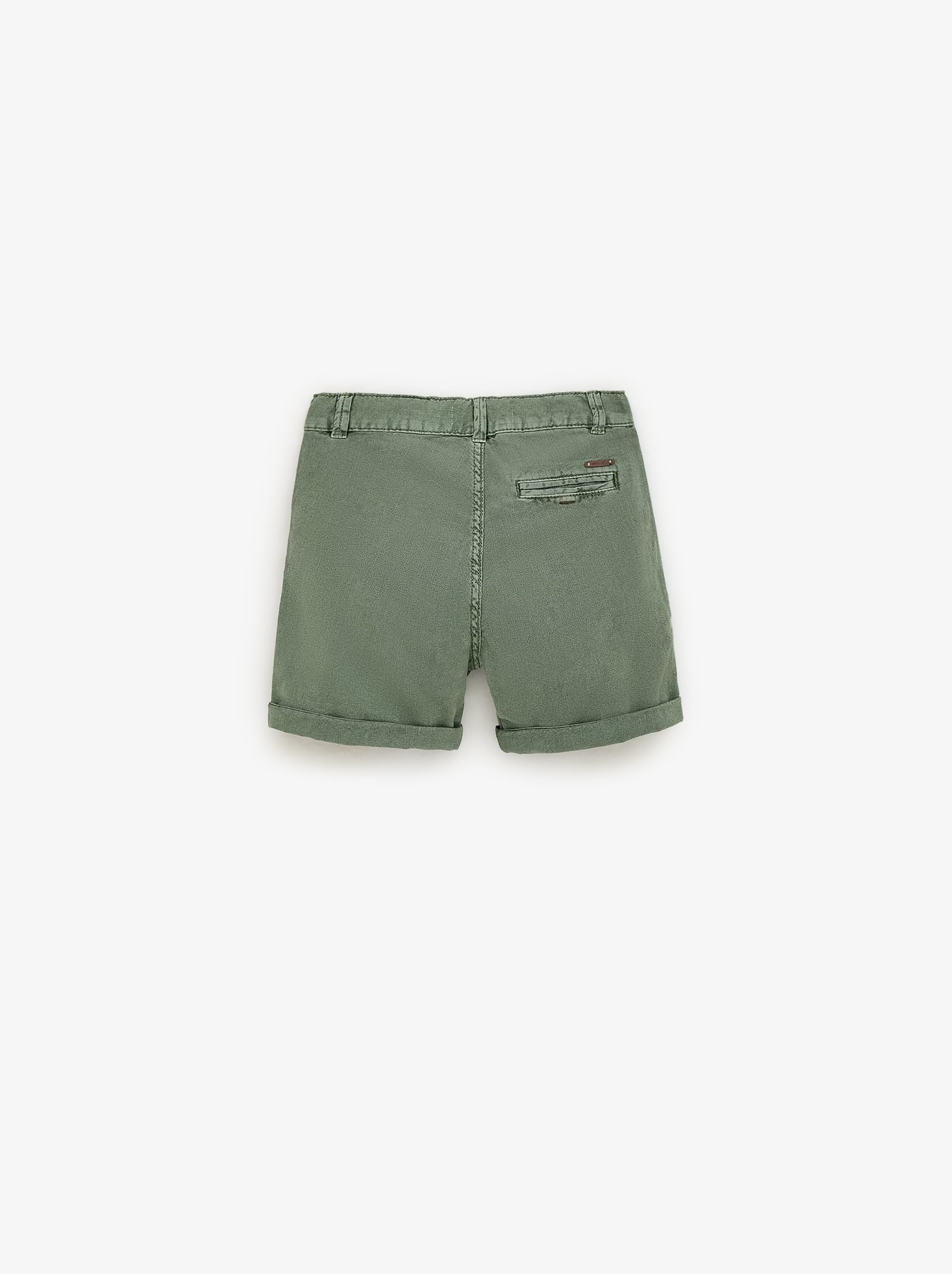 78bb40c629 TEXTURED CARGO BERMUDA SHORTS - TROUSERS AND SHORTS-BOY | 5 - 14 yrs ...