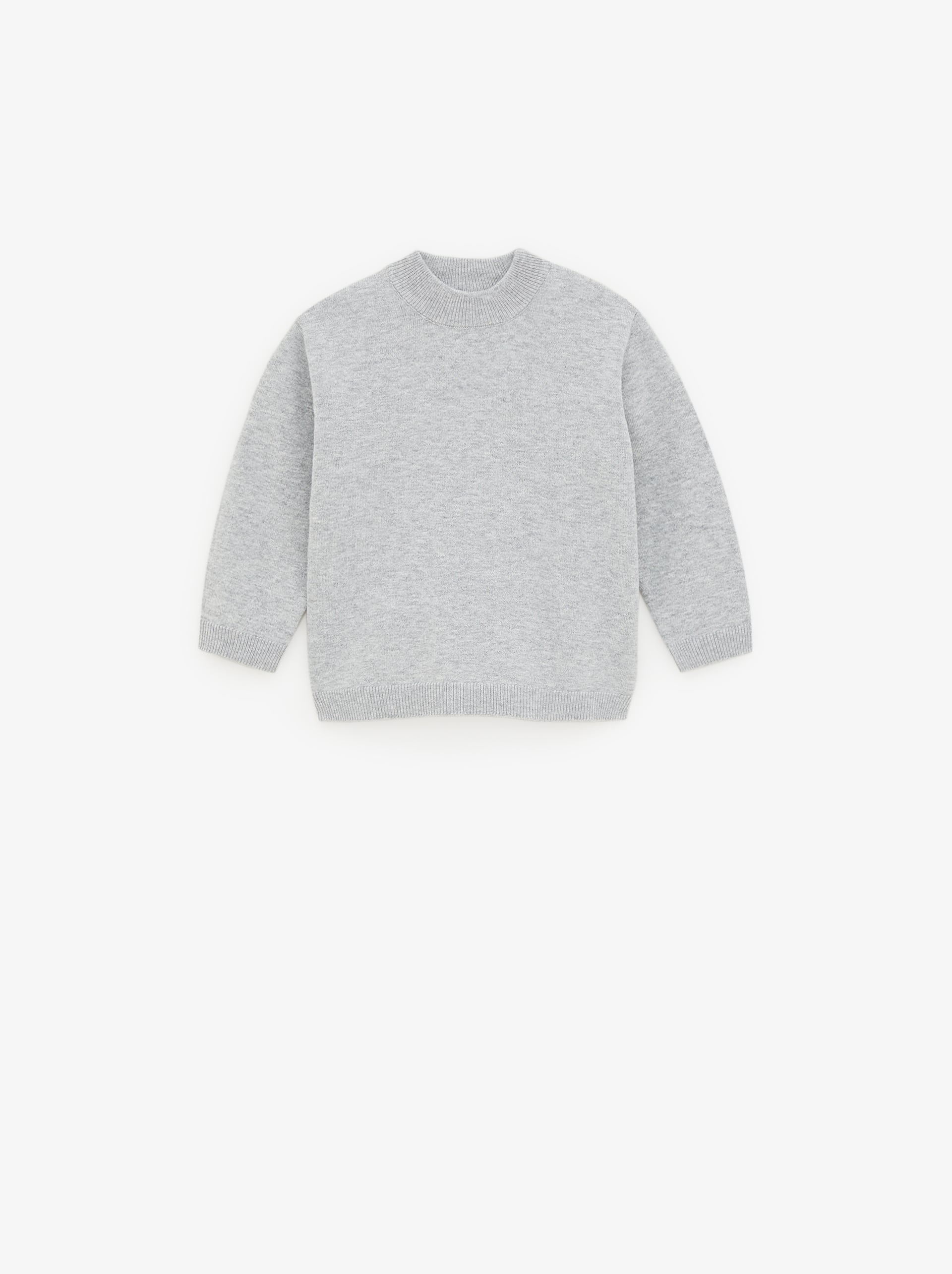 Basic Mock Neck Sweater by Zara