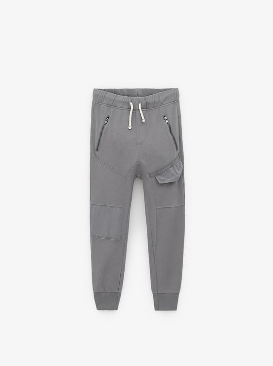 0c307a762 TROUSERS WITH COMBINED KNEE PATCH