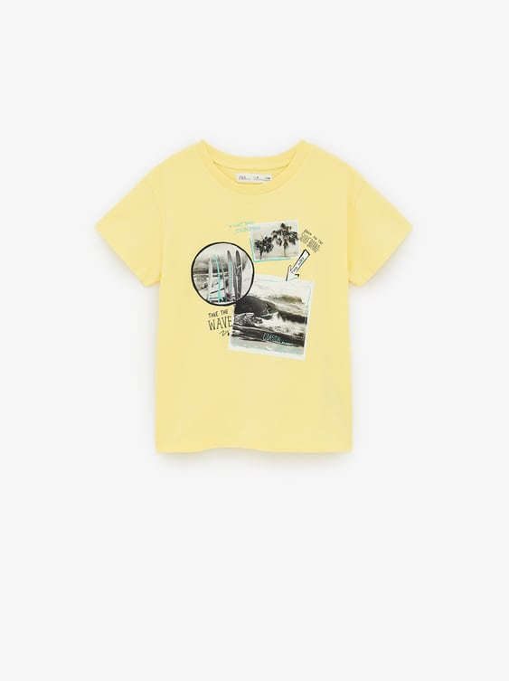 0d0ee7c1aa T - SHIRT STAMPA FOTOGRAFICA SURF-Fantasia-MAGLIETTE-BAMBINO | 6-14 ...