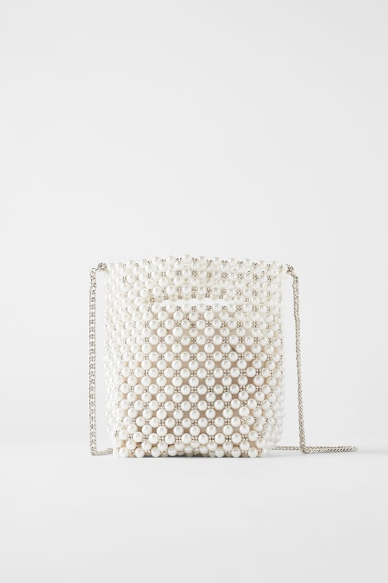 Pearl Mini Bucket Bag View All Bags Woman by Zara