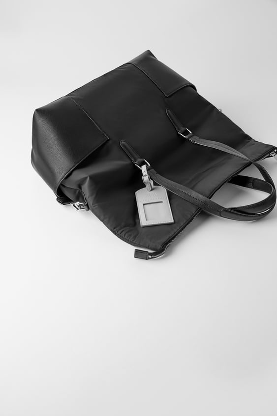 Nylon Travel Bag  Back To Office Bags Woman by Zara