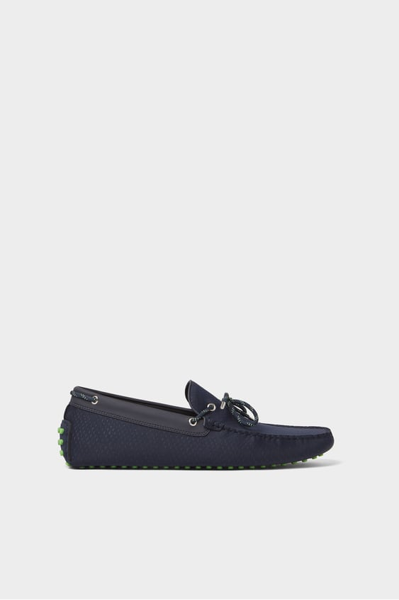 e71077c3 SYNTHETIC RUBBER DRIVING SHOES - SHOES-MAN-SHOES&BAGS | ZARA France