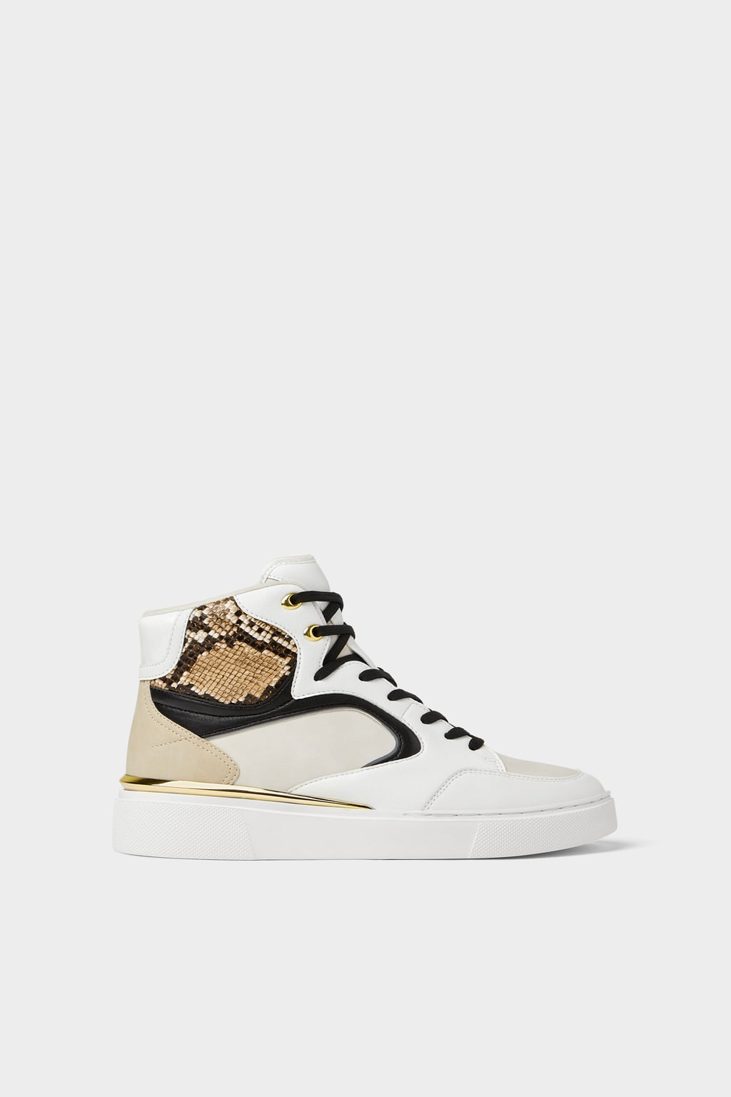 White High Tops by Zara