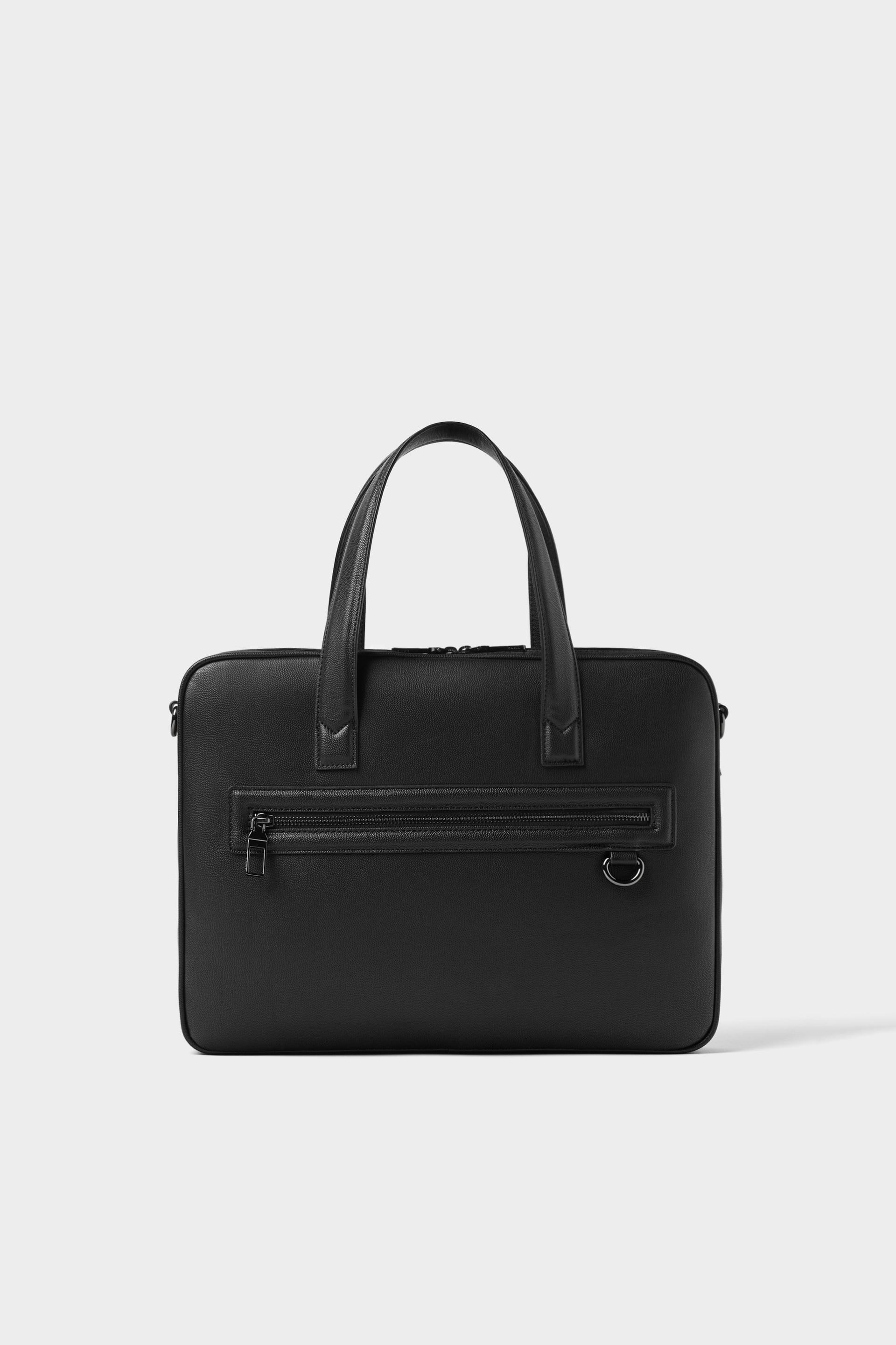 c556a3bad3 BASIC BLACK SLIM BRIEFCASE - BAGS AND BACKPACKS-MAN-SHOES&BAGS ...