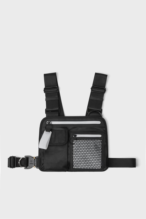 Zippered Chest Bag  Collection Move Ii Man by Zara
