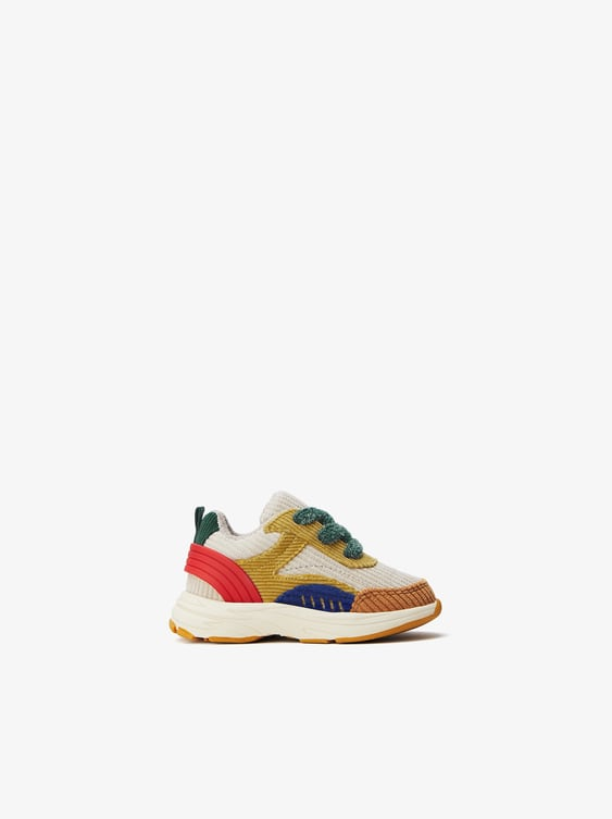 Corduroy Sneakers  Baby Boyshoes Kids Shoes & Bags by Zara