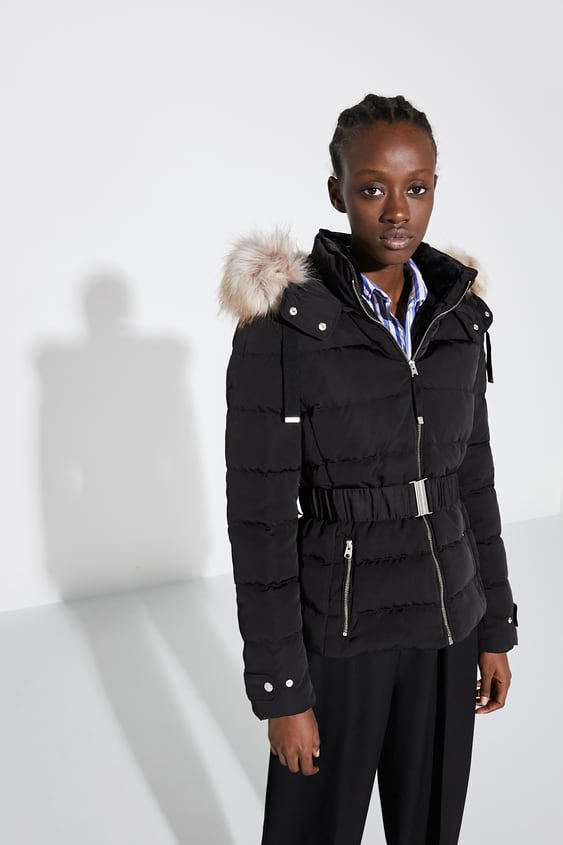 reliable reputation fashion style latest trends HOODED PUFFER COAT