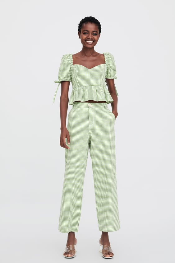 Check Top  New Intrf by Zara