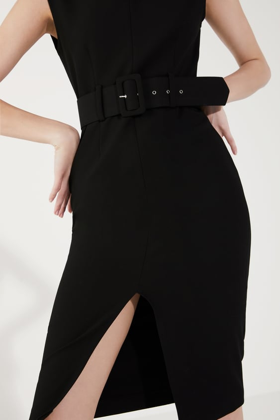 0fd61a0285 Women's Midi Dresses | New Collection Online | ZARA South Africa