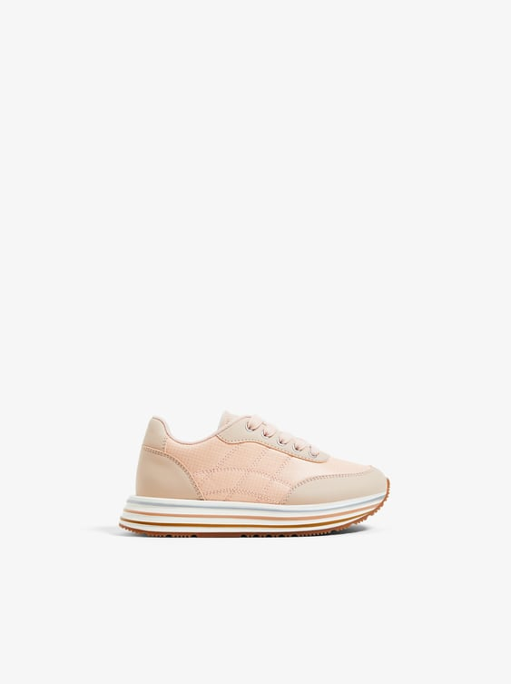 reputable site 74158 f5aa5 Image 1 of STRIPED SOLE SNEAKERS from Zara