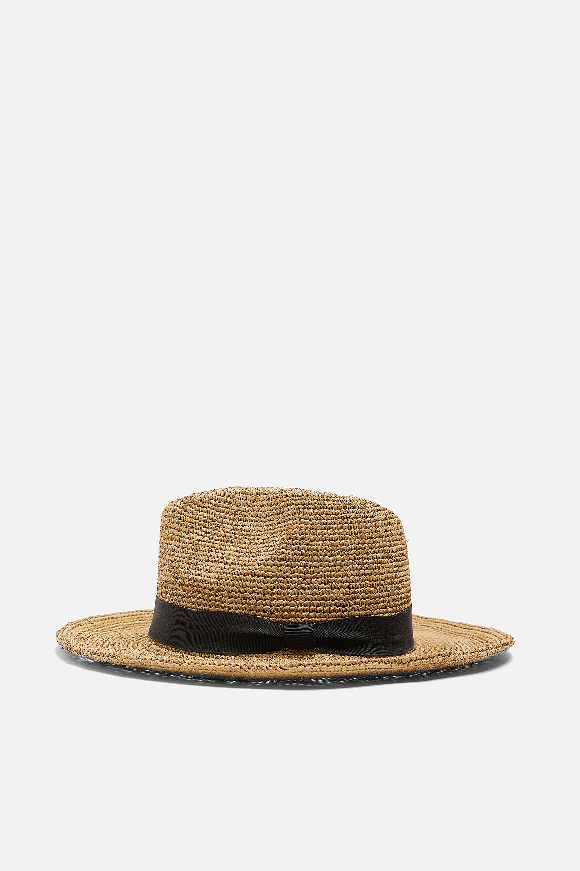 Image 1 of RAFFIA HAT from Zara
