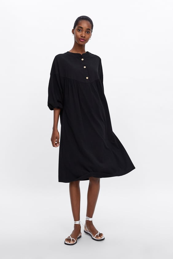 436592eb3d5 BUTTONED OVERSIZED SHIRT DRESS - Item available in more colors