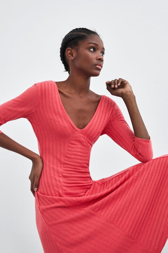 Robes longues pour femme   Nouvelle Collection en ligne   ZARA France a30b1ad63537