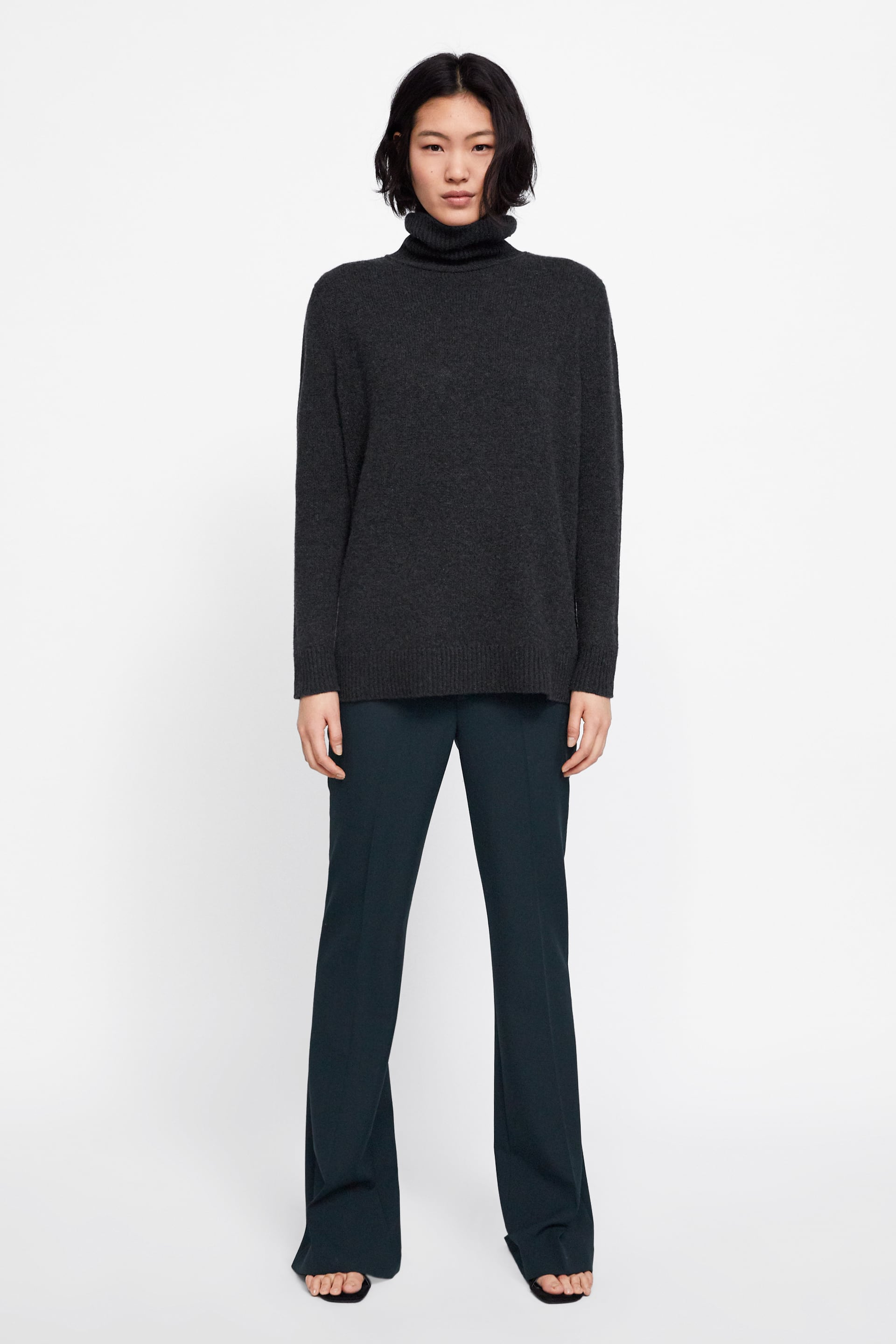 f3fa00ae Shoptagr | High Neck Cashmere Sweater View All Knitwear Woman by Zara
