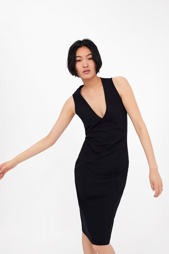 b561ab2227 Image 2 of TUBE DRESS from Zara